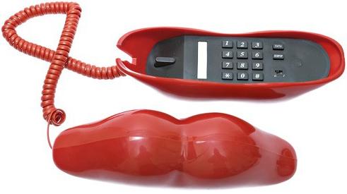 Телефон-губы