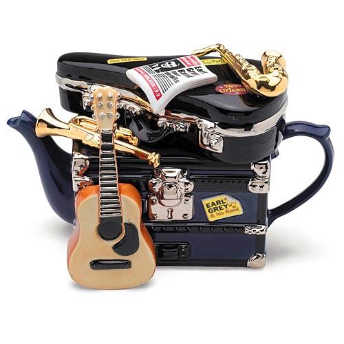 Чайник с гитарой