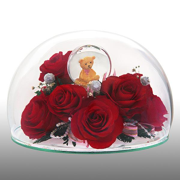 Розы и мишка