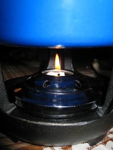 Свечка для нагревания фондю