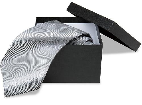 Благородный серый галстук