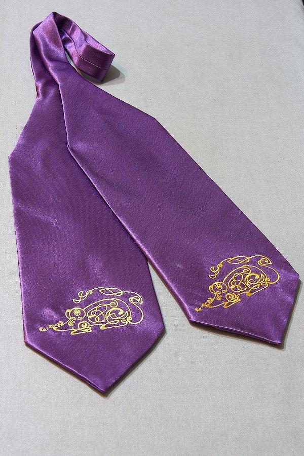 Фиолетовый с мышью