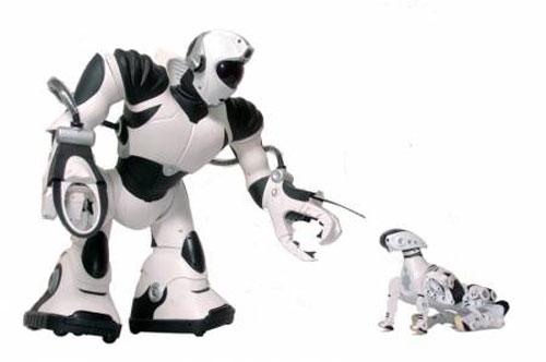 Роботы командуют роботами