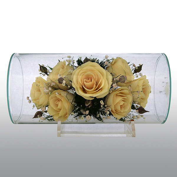 Из желтых роз...