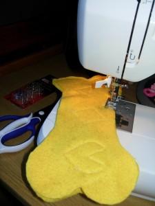 Сшиваем половинки