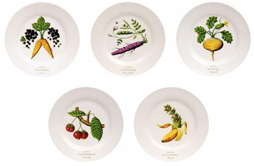 Комплект тарелок для тещи