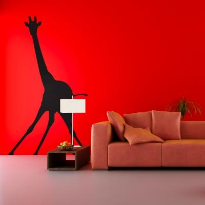 жираф наклейка
