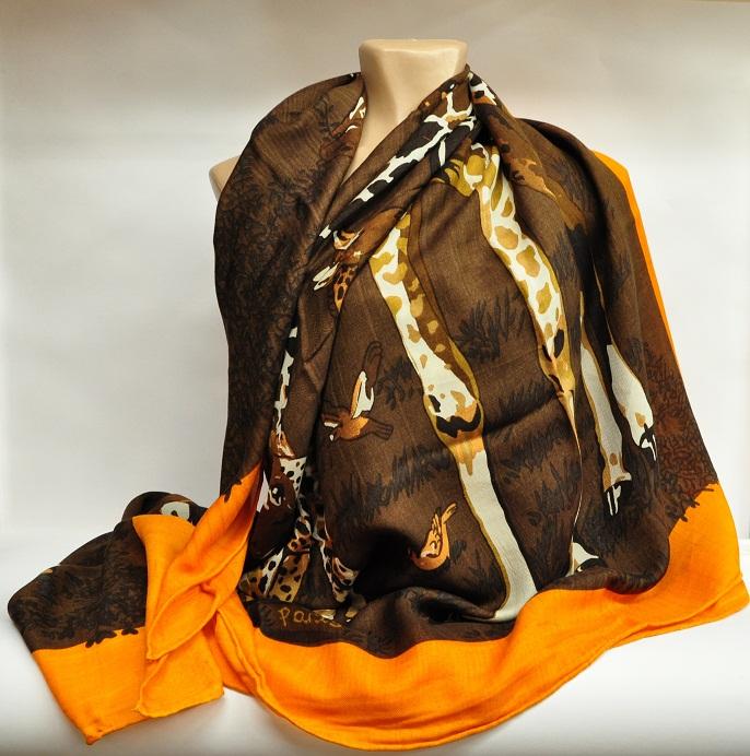 жираф платок