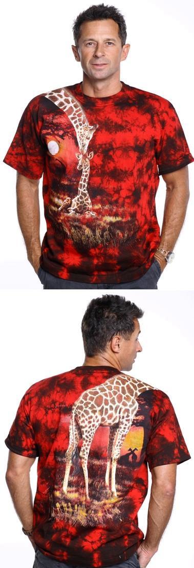 жираф футболка