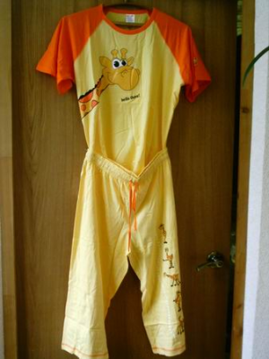 жираф пижама