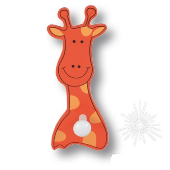 жираф вешалка