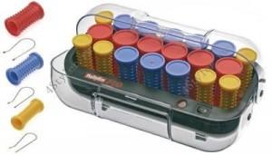 Электро-бигуди с зажимами