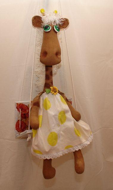 жираф аромат игрушка