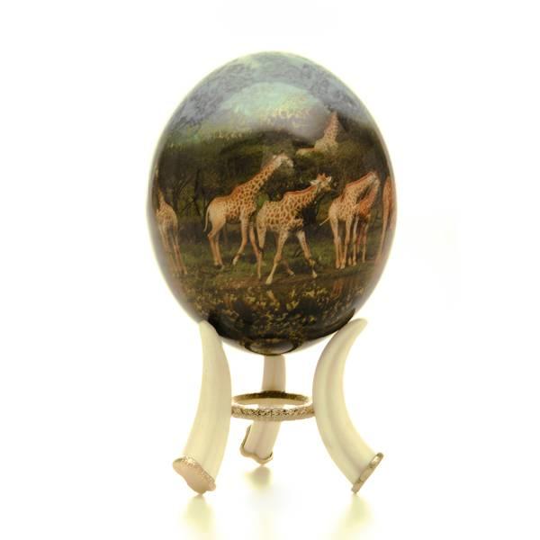 жираф яйцо
