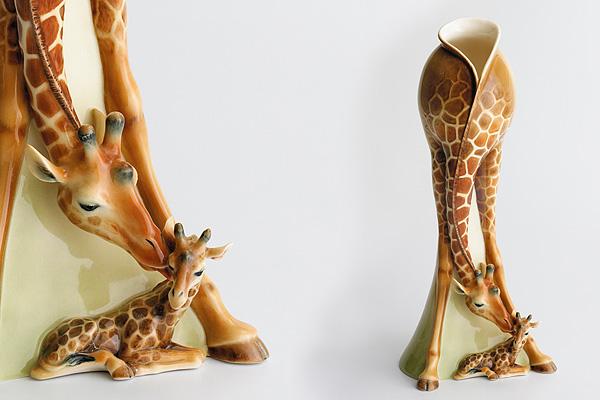 жираф ваза