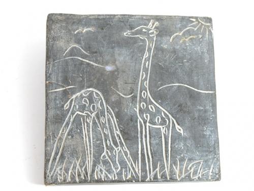 жираф подставка под горячее