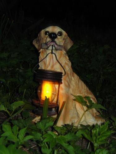 Как горит светильник ночью
