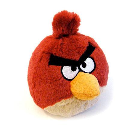 Злая красная птица
