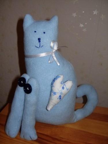 Тильда кот с лавандой