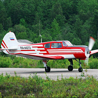 Прогулка на самолете