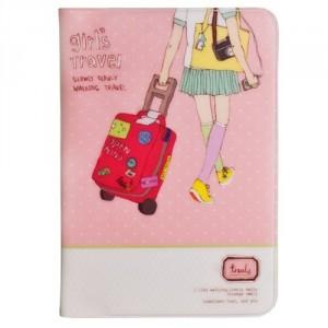 обложка заграничный паспорт путешествия для девочек