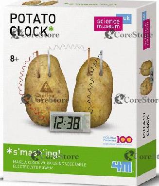 часы картошка