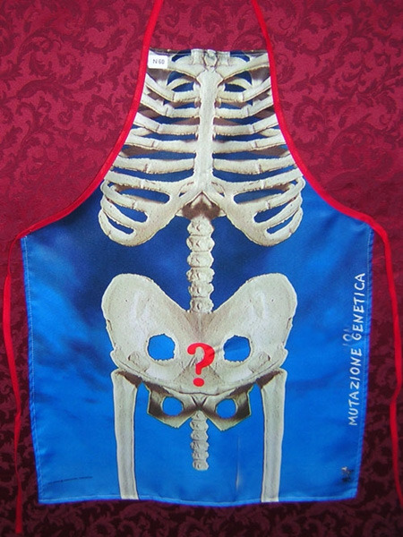 фартук скелет
