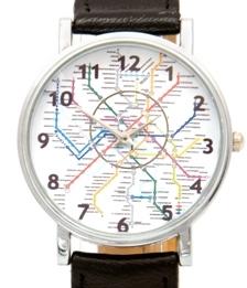 часы схема метро