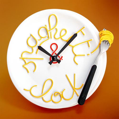 часы спагетти