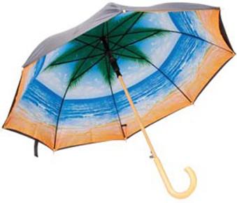 зонт рай под пальмой