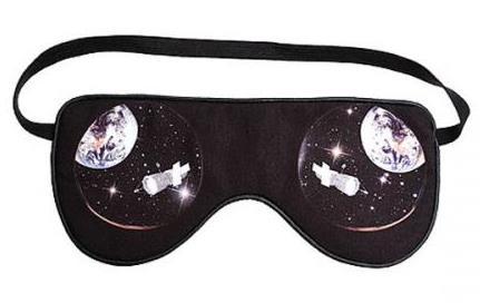 маска для сна космос