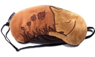 маска для сна кошечка
