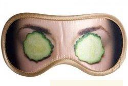 маска для сна огурцы