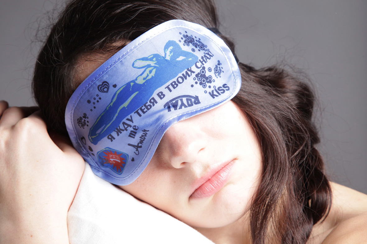 маска для сна я жду тебя
