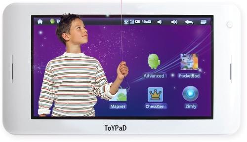 Детский планшетный компьютер ToyPad