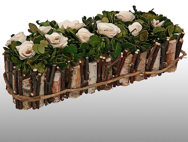 роза из стружки