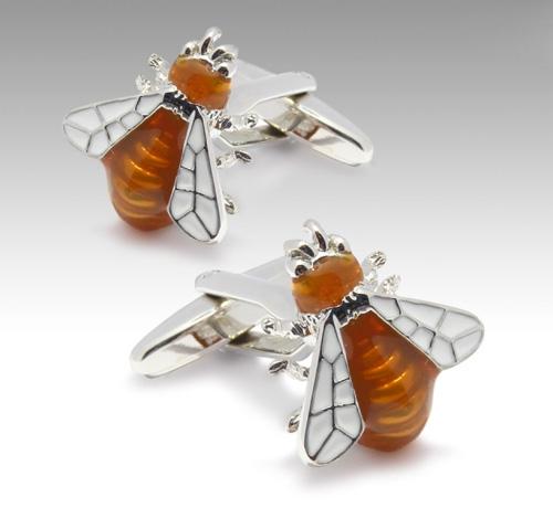 Запонки Honey Bee