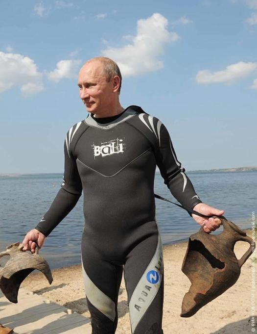 Путин нашел амфоры