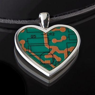Эко сувениры. Кулон Heart