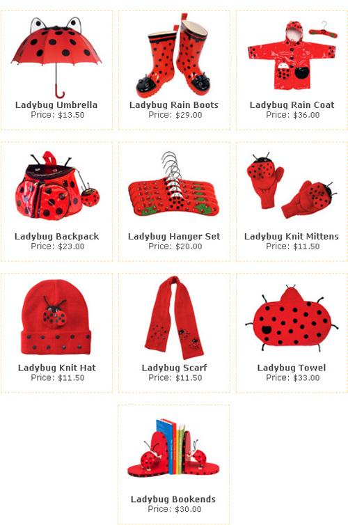 Детский набор The Ladybug Collection