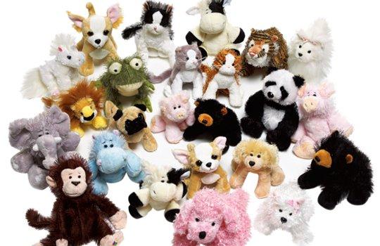коллекция мягких игрушек-тамагочи