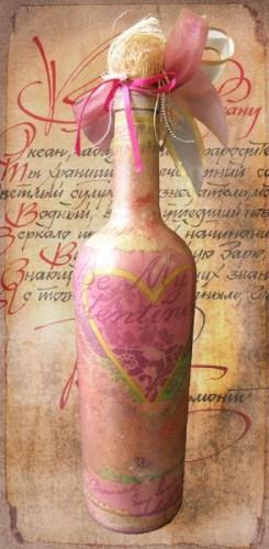 """Бутылка """"Валетинов День"""""""