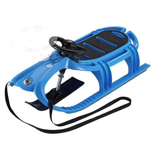 Санки с рулем детские KHW Snow Tiger de Luxe blau