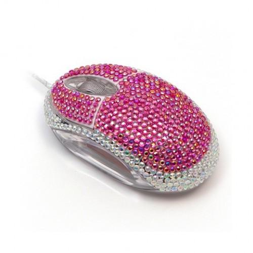 Мышка, инкрустированная кристаллами