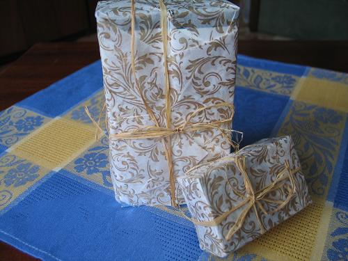 Упаковка от Ostrov yoga