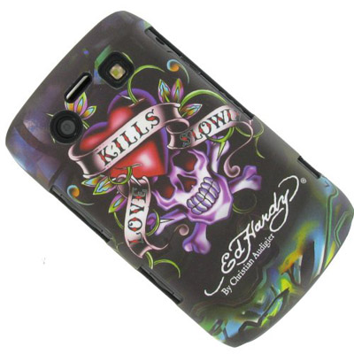 Чехол для BlackBerry Bold 9700 Ed Hardy Love Kills Slowly