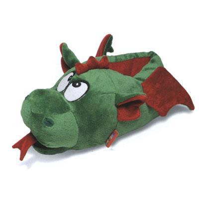 новогодние тапки-драконы, мягкие тапки-игрушки
