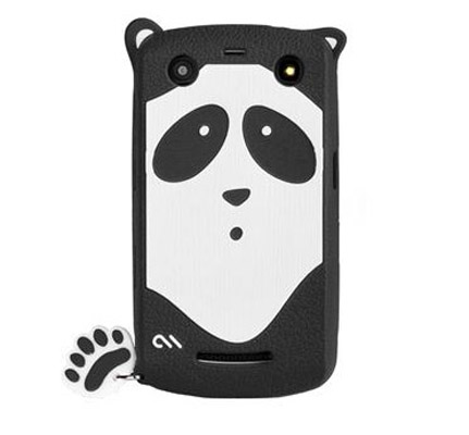 Чехол для BlackBerry 9350 / 9360 / 9370 Xing - Silicone Panda Case