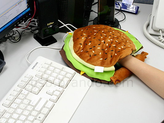 USB коврик для мыши бургер купить
