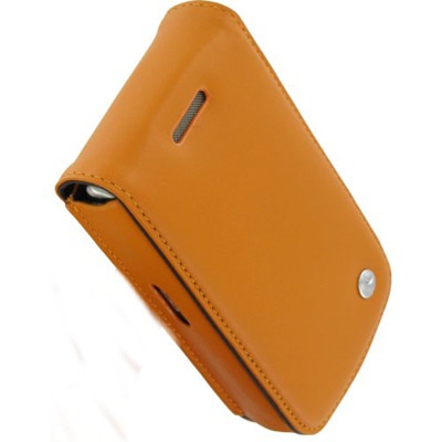 Чехол для BlackBerry Curve 8900 Noreve Leather Case (Orange)